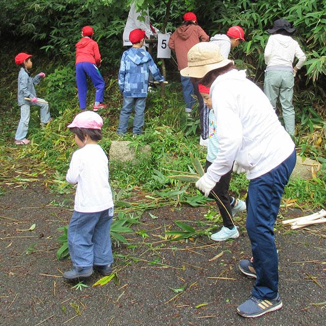 六甲山小学校のブナブナブーナ・プロジェクト活動の支援
