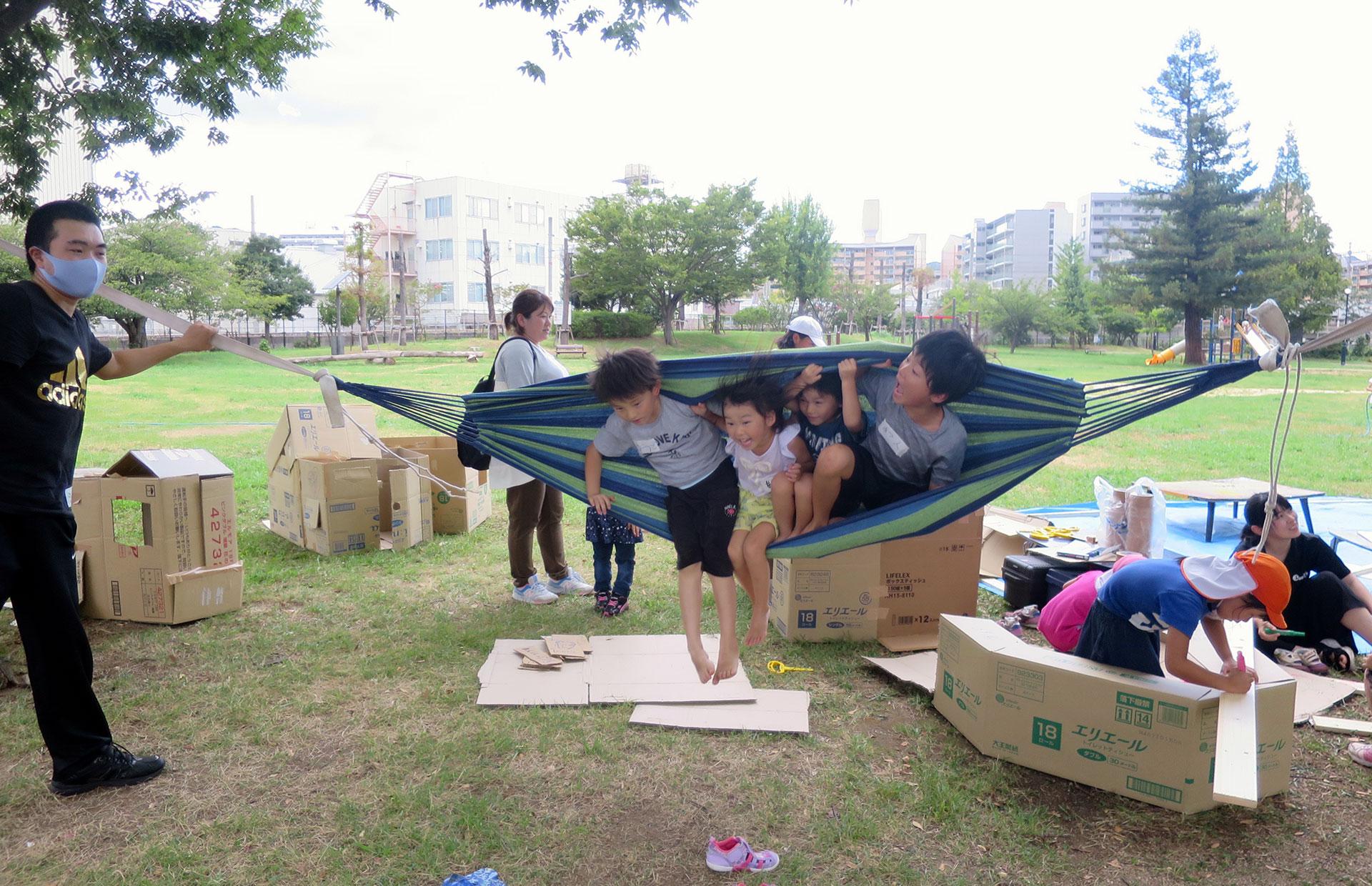 兵庫駅南公園プレーパーク